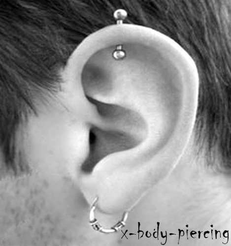 piercing au cartilage oreille blogue de x body piercing. Black Bedroom Furniture Sets. Home Design Ideas