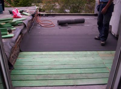 Pose du pare vapeur degreef toiture - Pare vapeur toiture ...