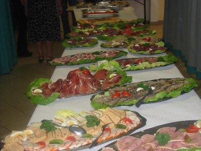 Presentation du buffet froid nono et piote - Presentation buffet froid deco ...