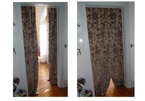 rideau de s paration des lys de styles. Black Bedroom Furniture Sets. Home Design Ideas